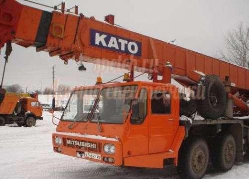 Автокран КАТО 50 тонн